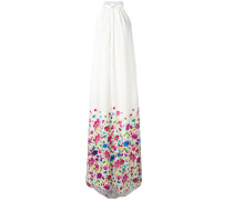 Seidenkleid mit Blumen-Print - women - Seide - 2