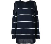 Oversized-Pullover mit Querstreifen