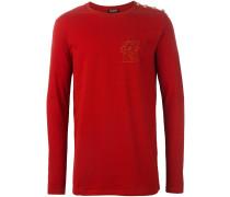 lion emblem sweatshirt