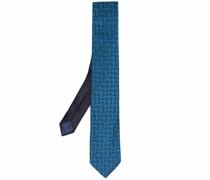Krawatte mit Zickzackmuster
