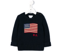 'American Flag' Strickpullover