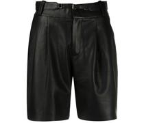 Shorts mit Bundfalten