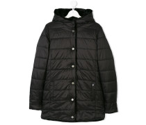 Teen faux fur lined coat