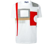 T-Shirt mit Patchwork-Design