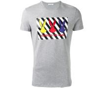 embellished printed T-shirt
