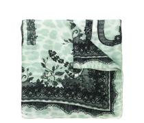 lace print scarf