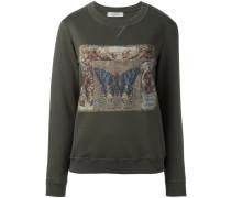 Sweatshirt mit Schmetterlings-Print - women