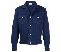 Schmale Jacke im Jeans-Look