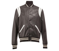 Zweifarbige Collegejacke - men