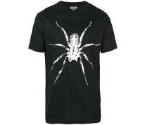 T-Shirt mit Spinnen-Print