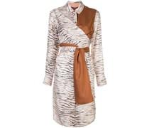 Hemdkleid mit Zebra-Print