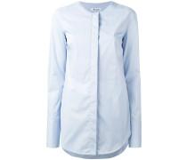 - Hemd ohne Kragen - women - Baumwolle - 40