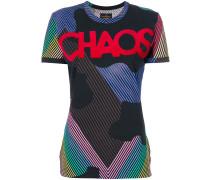 "T-Shirt mit ""Chaos""-Print"