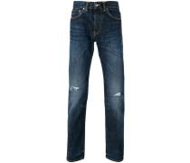 Jeans in Distressed-Optik - men - Baumwolle - 34