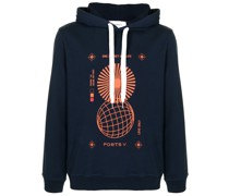 "Sweatshirt mit ""One Planet One Life""-Print"