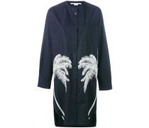 Hemdkleid mit Palmenstickerei - women