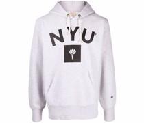 """Fleece-Hoodie mit """"NY University""""-Print"""