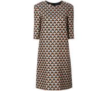 Shift-Kleid mit Muster-Print