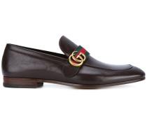Loafer mit GG-Schild - men - Leder/metal - 6