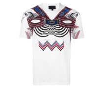 T-Shirt mit Tribal-Print