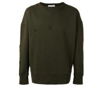 Perforiertes Sweatshirt