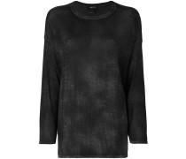 Feingestrickter Pullover mit lockerem Schnitt