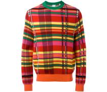 Pullover mit Karos