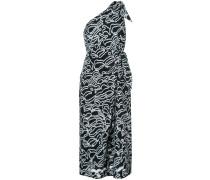 Einschultriges Kleid mit Knoten