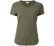 blurry stripes T-shirt