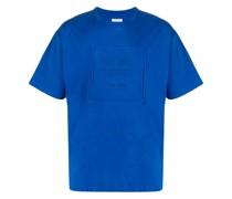 T-Shirt mit eingeprägtem Logo