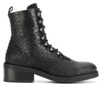 Dalida Cone python-effect boots