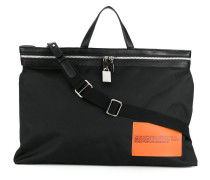 patch detail tote bag