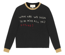 Coco Capitán embroidered sweater