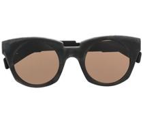 Dicke Cat-Eye-Sonnenbrille