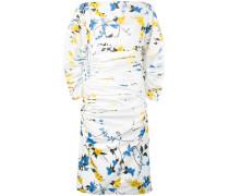 - Gerüschtes Kleid mit floralem Print - women