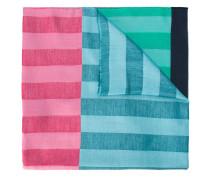 colour block striped scarf