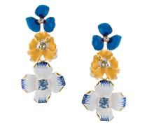 Blumen-Ohrringe