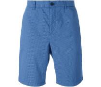 Chino-Shorts mit Print