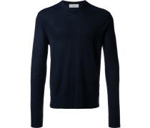 Wollpullover mit V-Ausschnitt - men - Wolle - M