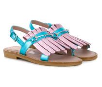 Sandalen mit Zierlasche