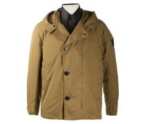 hooded worker jacket