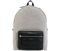Rucksack mit Kontrasttasche