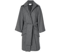 Oversized-Mantel mit Taillengürtel