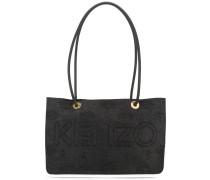 Handtasche mit perforierten Seiten - women