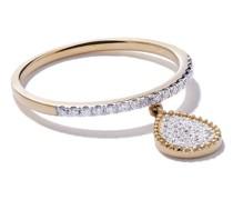18kt 'Mye' Gelbgoldring mit Diamanten