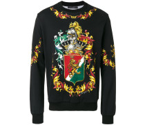 'Coat of Arms' Sweatshirt mit Print