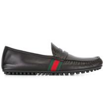 Loafer mit Webstreifen - men - Leder/rubber - 7