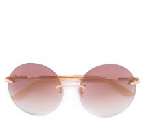 'Trinity' Sonnenbrille - women - Acetat/metal