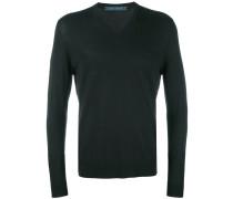 Pullover mit V-Ausschnitt - men - Wolle - XL