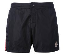 striped trim swim shorts